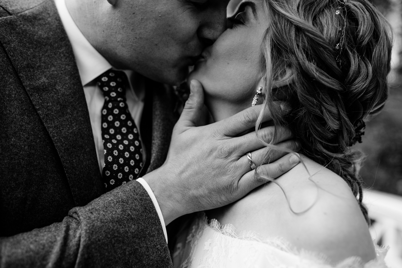 Schwarz Weiß Hochzeitsfotografie